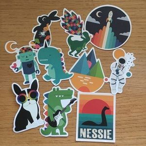 Other - 10 Fun Decal Stickers